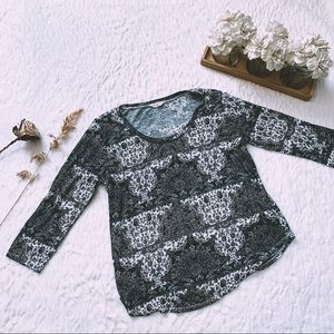Lucky Brand Patterned Paisley Shirt